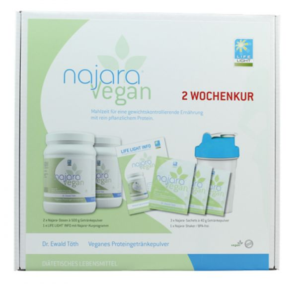 Dr. Ewald Töth® Najara Vegan Proteinshake 2 Wochenkur