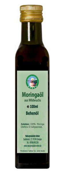 Moringa Öl aus Wildwuchs ( Behen Öl )
