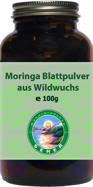 Moringa Pulver, BIO