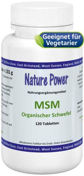 Nature Power MSM - Organisch gebundener Schwefel