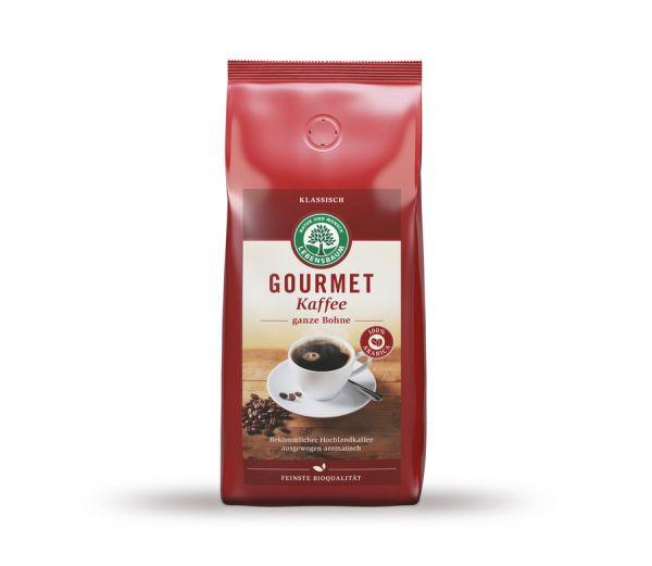 Lebensbaum Gourmet Kaffee klassisch ganze Bohne, BIO