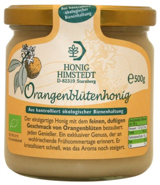 Honig Himstedt Orangenblütenhonig, BIO