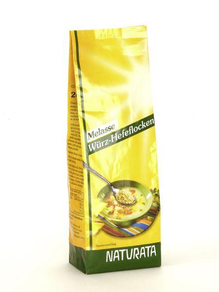 Naturata Melasse Würz-Hefeflocken Nachfüllpack, konventionell