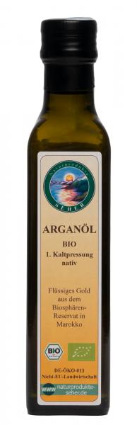 Arganöl nativ, 1. Kaltpressung, BIO