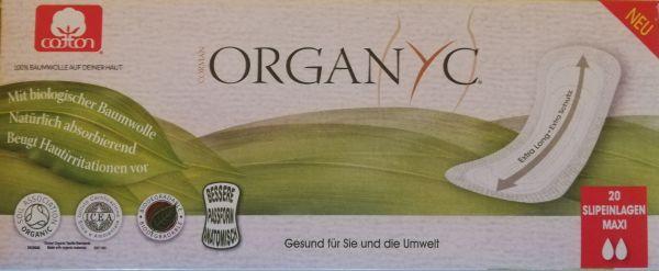 Organyc Slipeinlagen aus Bio-Baumwolle