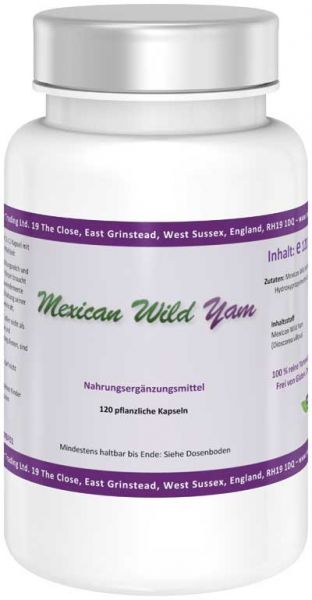 Nature Power Mexican Wild Yam Kapseln