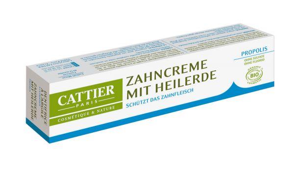 Cattier Zahncreme mit Heilerde Propolis, Naturkosmetik in Bio-Qualität